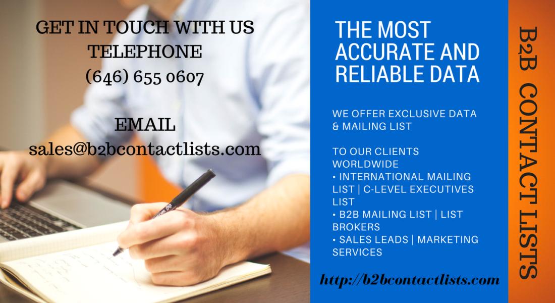 Accela Technology Executives Mailing List