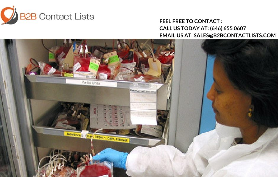 Blood Bank Director Email Lists