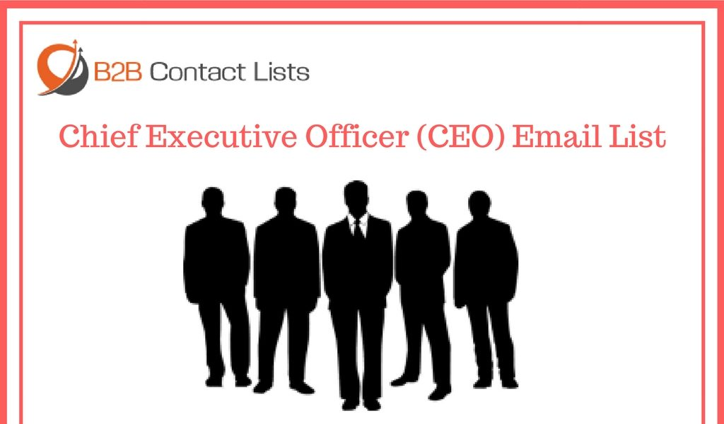 Chief Executive Officer (CEO) Email List