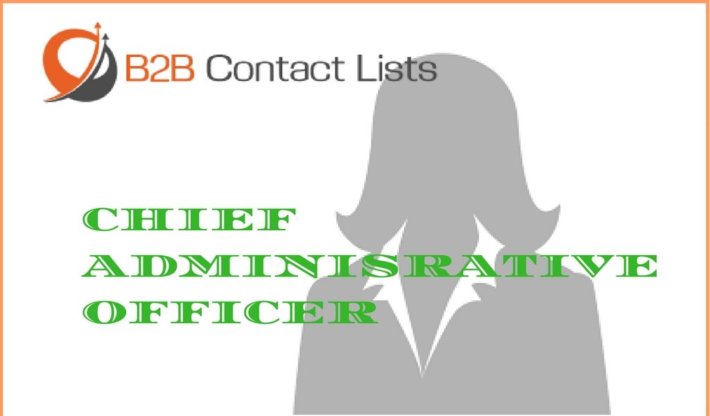 chief administrative officers
