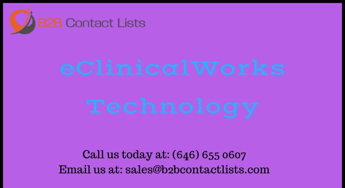 eClinicalWorks Technology Executives Mailing Lists & Email Lists