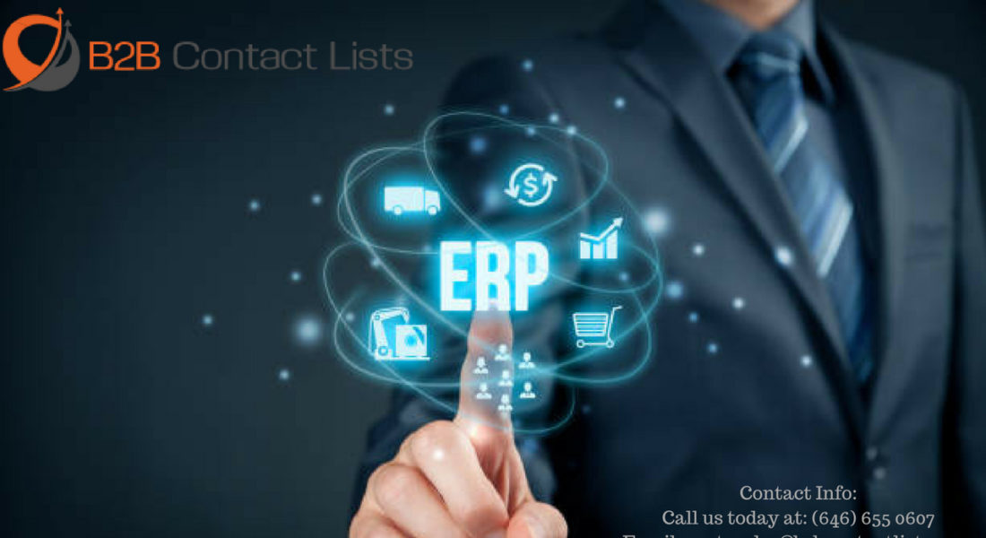 5X ERP Technology Executives Mailing List & Email List in USA | B2B
