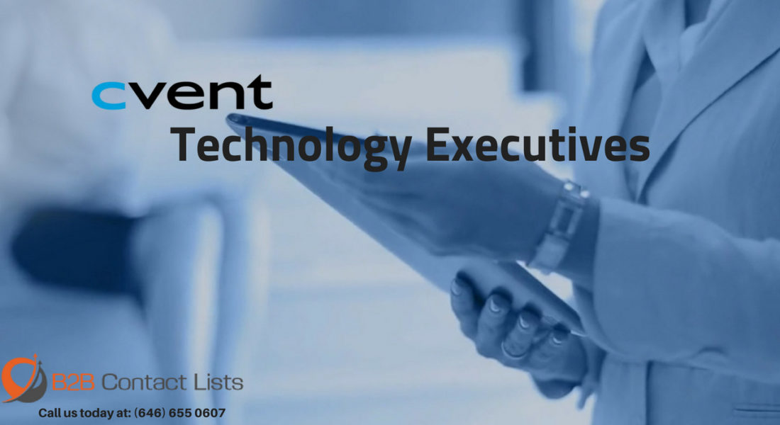 Cvent Technology Executives Mailing List in USA