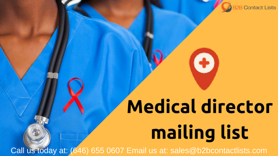 Medical director mailing list