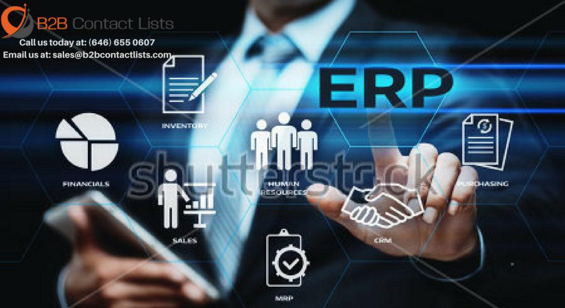 Atex ERP Technology Executives Mailing List
